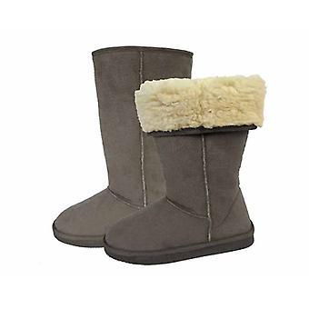 مبردات المرأة ميكروسويدي بدوره أسفل الحذاء الشتاء