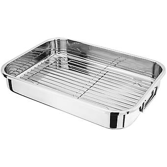Judge Speciality, 42 X 30 X 6.5cm Roasting Pan, With Rack