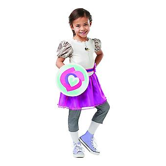 Nella Knight Deluxe kids costume filles Knight Carnaval Carnaval Château