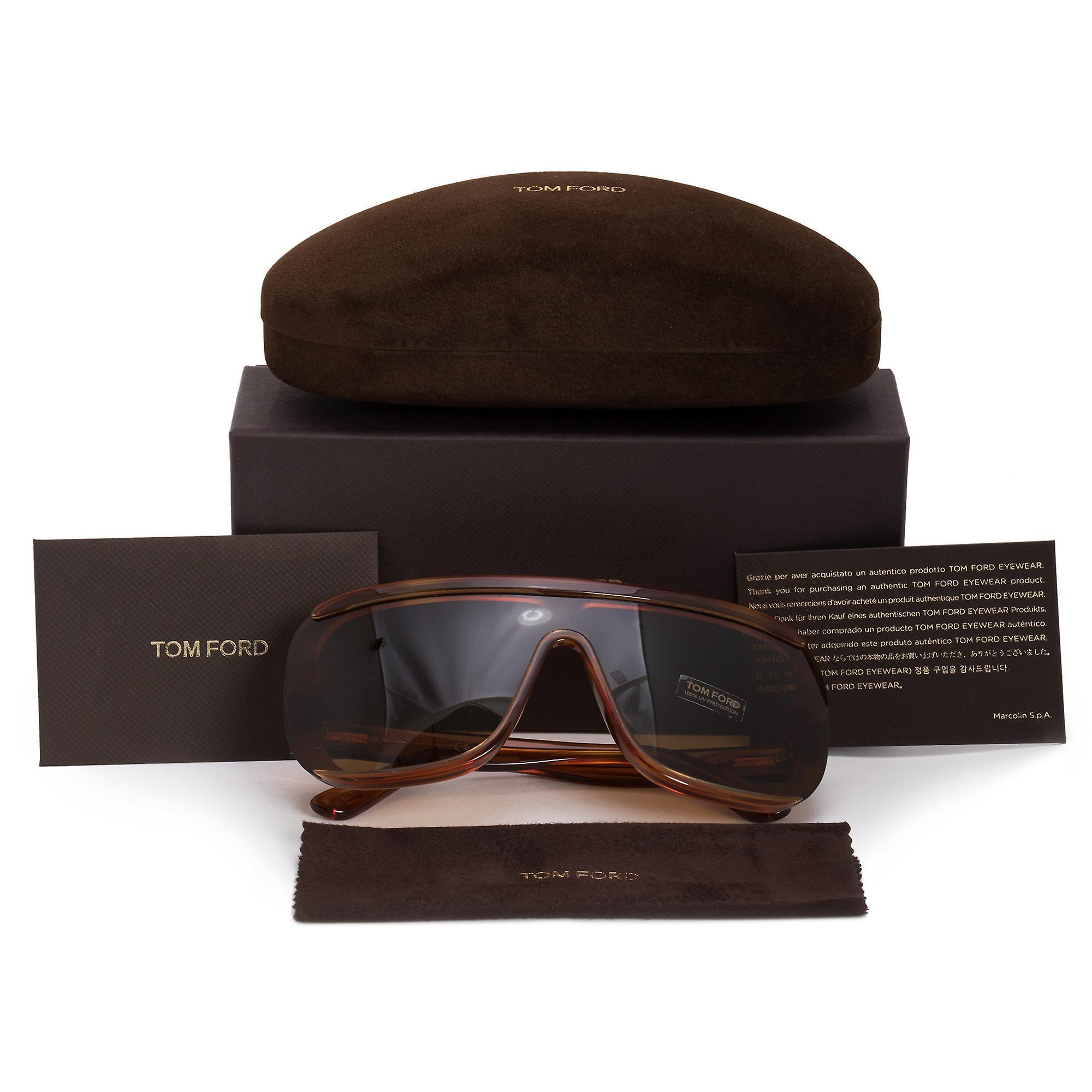 Tom Ford Pofirio-02 Semi-Rimless Sunglasses FT0559 53E 00
