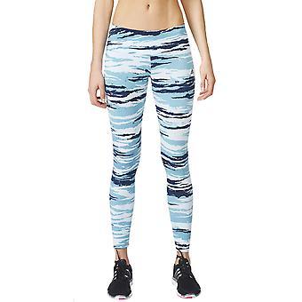 Adidas wydajności damskie Camo Essentials pełna długość siłowni mocno legginsy - Ice