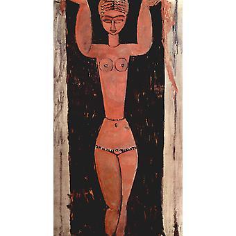 Cariatide, Amedeo Modigliani, 80x40cm