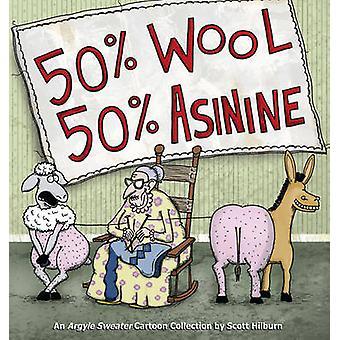 50% ウール 50% ロバ - スコット Hilborn - でアーガイル セーター コレクション