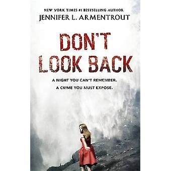Não olhe para trás por Jennifer L. Armentrout - 9781444752175 livro