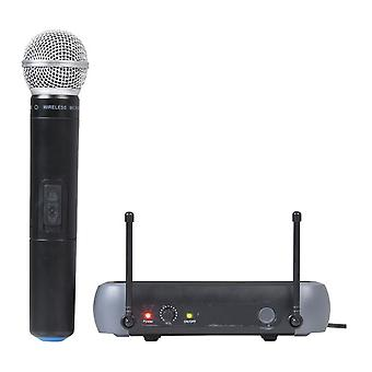 TechBrands Single Channel Wireless UHF Microphone