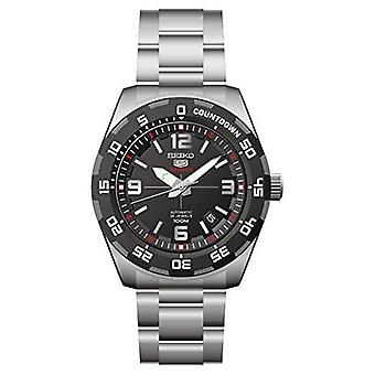 Seiko 5 Automatic Sports Silver Stainless Steel Men's Watch SRPB81K1