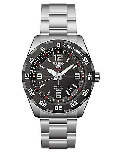 Seiko 5 Automatic Sports Silver Stainless Steel Mens Watch SRPB81K1 RRP £249