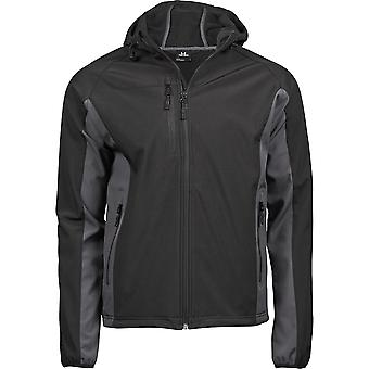 Tee Jays Mens Lightweight Performance Hooded Soft Shell Jacket