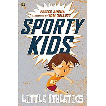 Sportiga barn: Lite friidrott!