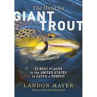 Die Jagd nach riesigen Forellen: 25 besten Orte in den Vereinigten Staaten, um eine Trophäe zu fangen