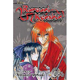 Rurouni Kenshin (3-i-1 utgåva), Vol. 6: inkluderar vols. 16, 17 & 18 (Rurouni Kenshin 3-i-1)