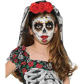 Mantilla For Day Of The Dead