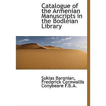 Catalogus van de Armeense manuscripten in de Bodleian Library van Sukias Baronian