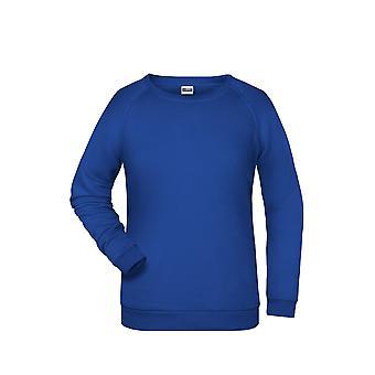James And Nicholson Womens/Ladies Basic Sweatshirt