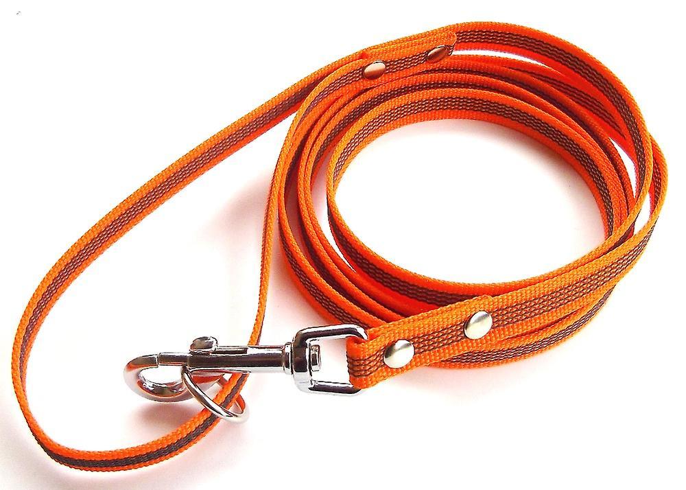 Super-Grip Leash, Orange 15 mm wide