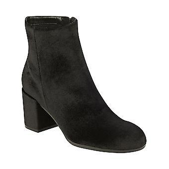 Indigo Rd. Womens IRCRUSONA Fabric Round Toe Ankle Fashion Boots