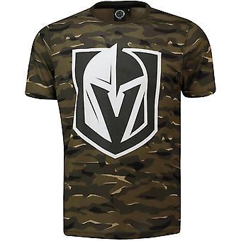 NHL Fan T-Shirt-Vegas Golden Knights wood camo