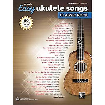 Alfreds gemakkelijk Ukulele nummers--Classic Rock: 50 Hits van de jaren ' 60, ' 70 & jaren ' 80
