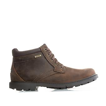 Mens Rockport Mens Strorm Surge Plain Toe Boots in Brown - UK 10