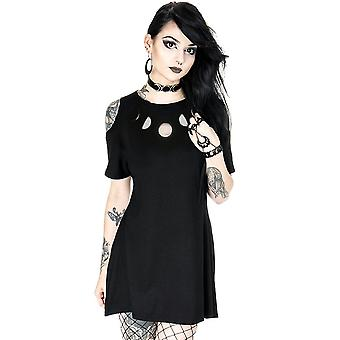 Restyle - moon phases - cold shoulder dress