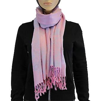 Lenço/xaile/xaile 100% pashmina roxo