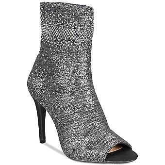 INC internationale begreber dame Rielee stof åben tå ankel mode støvler