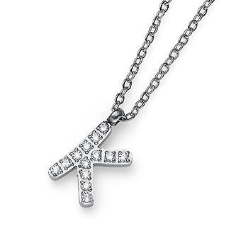Oliver Weber hanger eerste K Steel CZ kristal