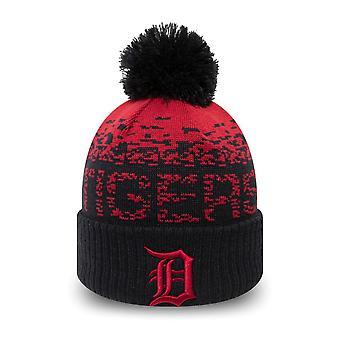 Nieuwe tijdperk kinderen winter hoed Bobble muts Detroit tijgers
