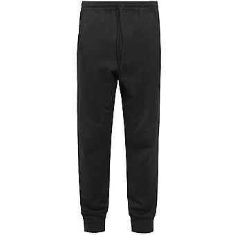 Y-3 Classic Logo Cuff Pants Black