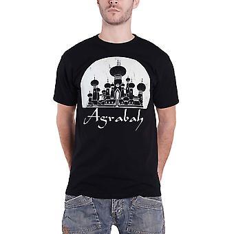 Aladdin T Shirt Agrabah Wüste Königreich neue offizielle Disney Herren Schwarz