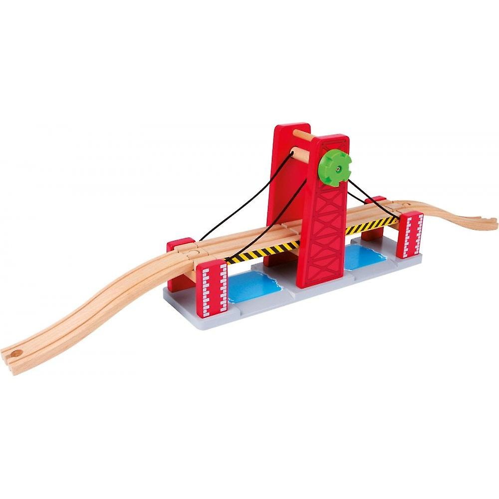 Small Foot Wooden Double Lifting Bridge