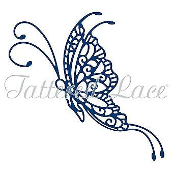 Fillete blonder Goldwork blonder sommerfugl, sølv