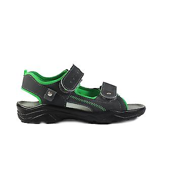 Ricosta Tajo 6029100-561 Green Boys Open Toe Sandal