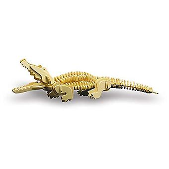 Siva Toy860/3 Wood Construction Crocodile Toy