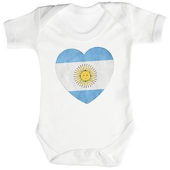 Hou van Argentinië hart Baby Romper / Babygrow