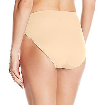 Warner's Women's No Pinching No Problems Brief Panty, Sand, Small