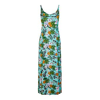 Collectif Vintage Long Tropical Hawaiian Maisie Maxi Dress