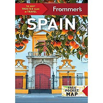 Frommers Spain by Peter Barron