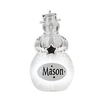 History & Heraldry Snowman - Mason