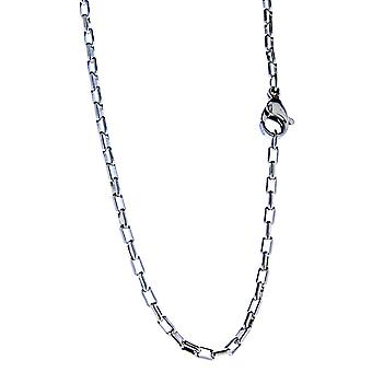 Anker ketting 2 mm-zilver-roestvrijstaal
