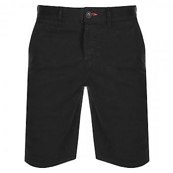 Superdry International Chino Shorts Midnight Sky Blue XAX