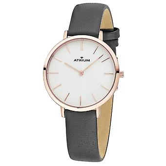 ATRIUM Women's Watch Wristwatch Analog Quartz A28-204 Leather