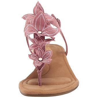 Koolaburra door UGG Women's Arely Heeled Sandal ash rose 05 B US