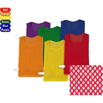 EVC-0079, Pinnies Pack ensemble de 6 Couleurs 23 'quot; L '15 'quot; W