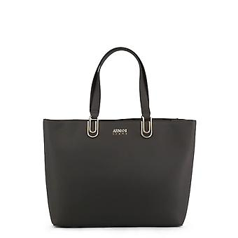 Armani Jeans Original Women All Year Shopping Bag - Grey Color 34291