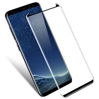Σημείωση της Samsung 8 - 9h μετριασμένος προστάτης οθόνης γυαλιού - μαύρος
