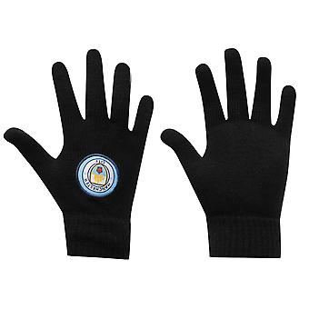 Team Unisex Knit Glove Jnr84