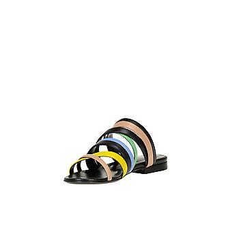 Pierre Hardy Ezgl482004 Women's Multicolor Leather Sandals