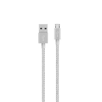 Belkin MIXIT UP Metallic Micro-USB Cable (4 feet) - Silver