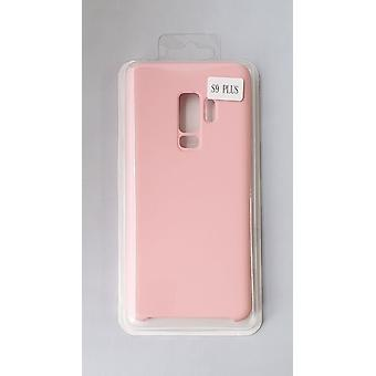 Silicone Cover Case for Samsung G965 S9 Plus Pink